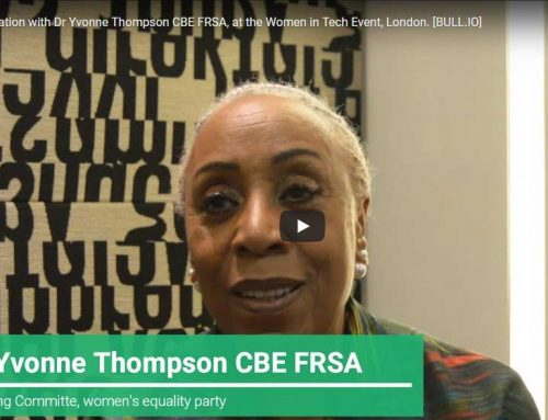 In conversation with Dr. Yvonne Thompson CBE – Women In Tech