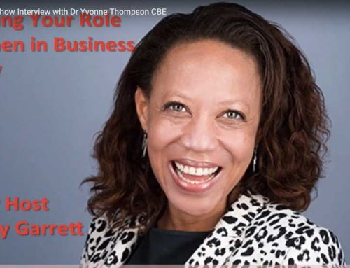 Dr. Yvonne Thompson CBE on Rocking your Role Show Interview